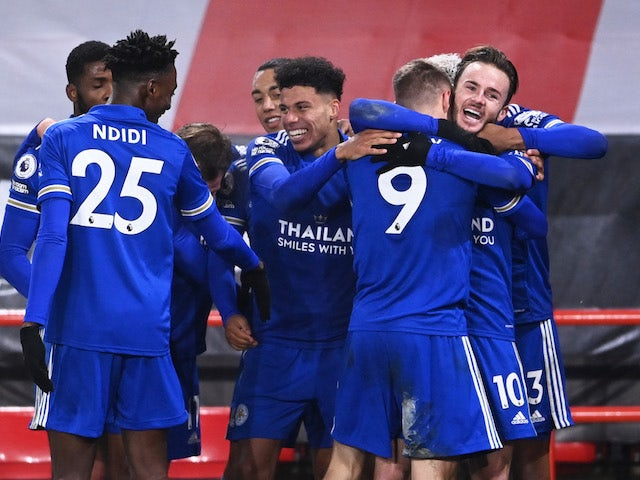 Result: Jamie Vardy hits late winner for Leicester City at Sheffield United  - Sports Mole