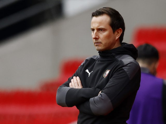 Rennes head coach Julien Stephan pictured in February 2021