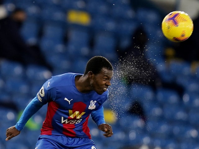 Crystal Palace defender Tyrick Mitchell pictured in February 2021