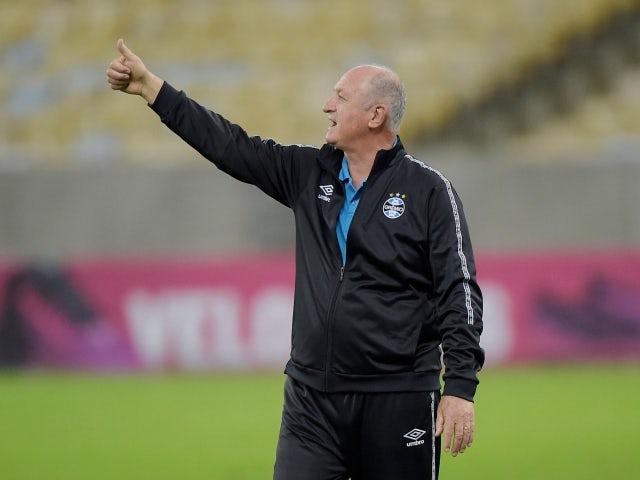 Gremio coach Luis Felipe Scolari pictured on July 17, 2021
