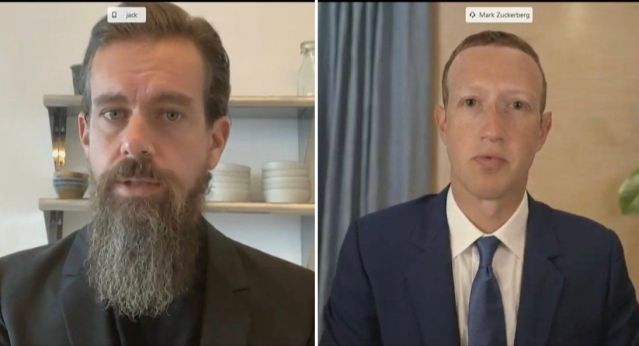 Mark Zuckerberg And Jack Dorsey's Contrasting Aesthetics Have Become A  Twitter Meme - Culture
