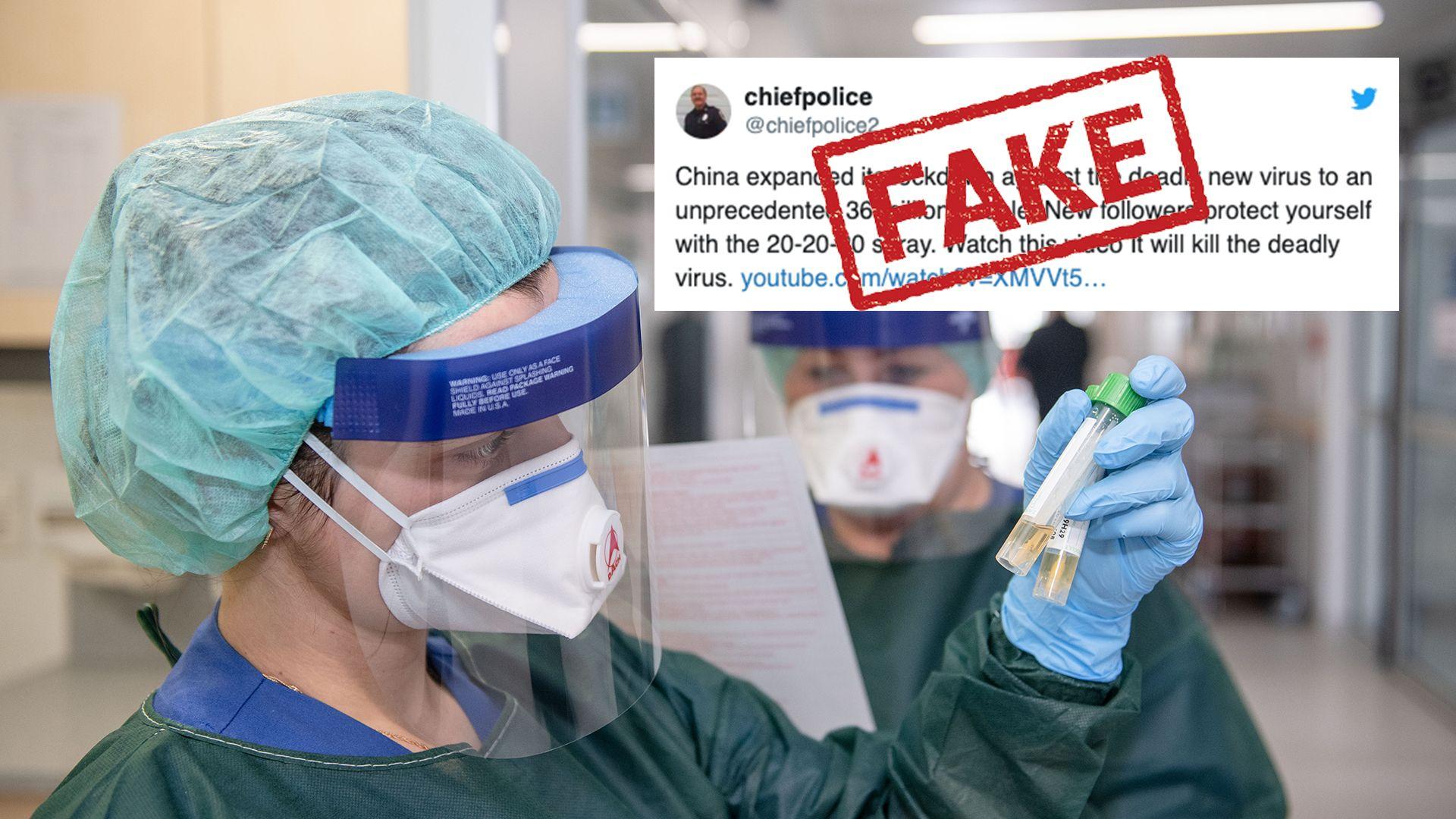 Coronavirus conspiracy theories spread panic and dangerous ...