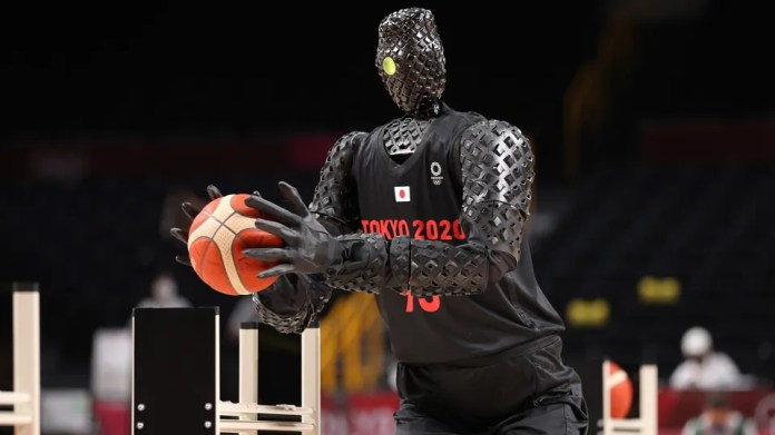 The Future Of Sports? There's A Robot Sinking Basketballs At The Tokyo Olympics