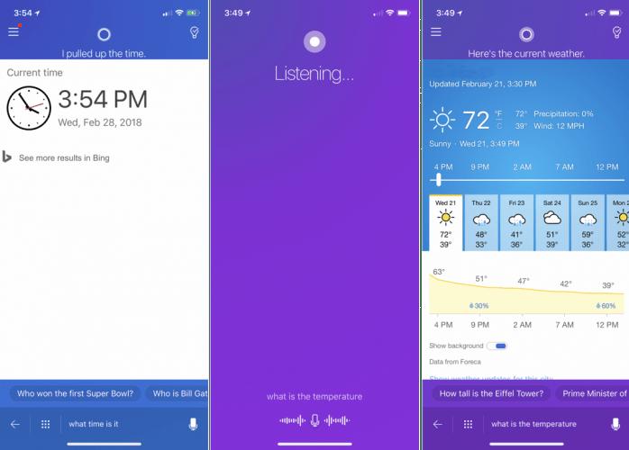 Activating Cortana