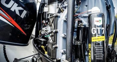 Klargøring af påhængsmotoren