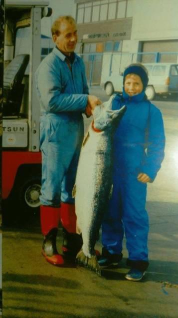 far og mig
