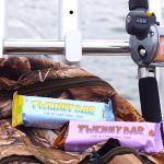 Mellemmåltid på fisketuren