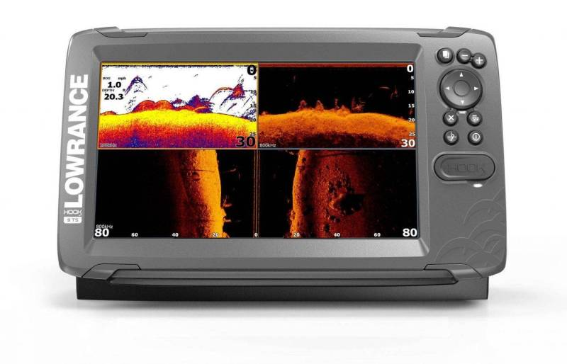 Lowrance HOOK2-9 TripleShot product front facing renders 8-17_20800