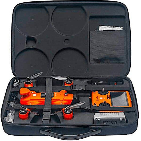 Spry - vandtæt drone. Spry taske til drone