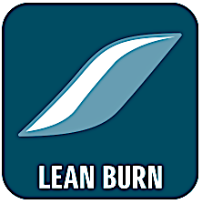 Lean Burn sparer brændstof ved at sikre den helt perfekte blanding af brændstof og luft