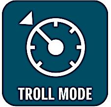 Trollingkontrol sørger for en konstant hastighed så du kan præsentere din agn perfekt i vandet