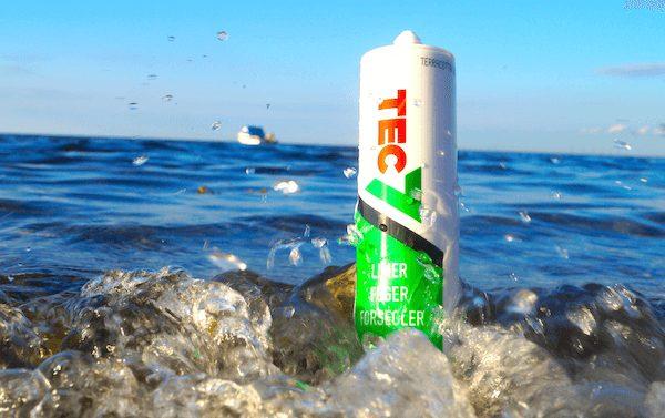TEC7 fugemasse limer og fuger alt også under vand