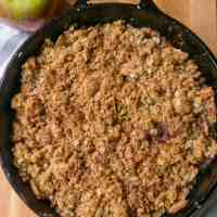 Cast Iron Apple Crisp