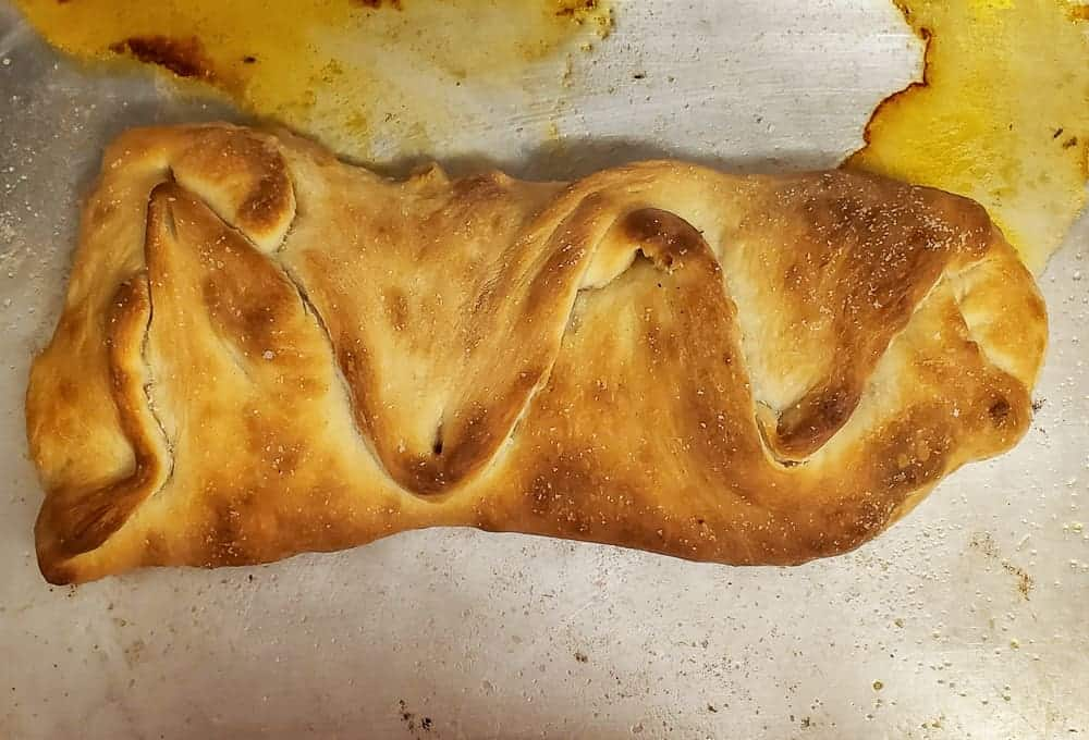 Finished stromboli