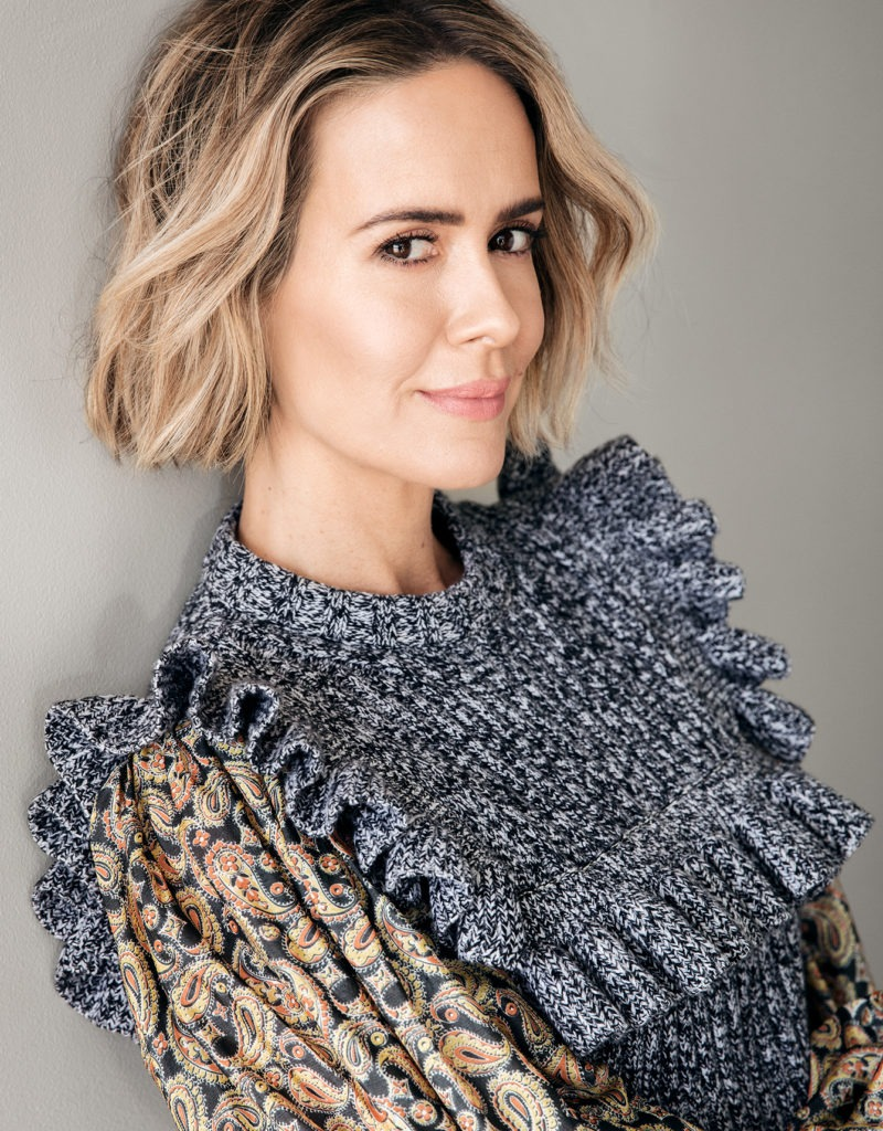 Image result for s magazine sarah paulson