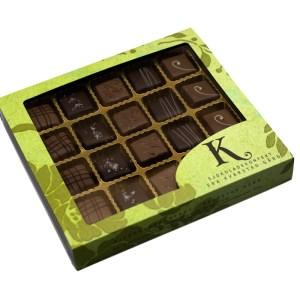 Sjokolade og karamell