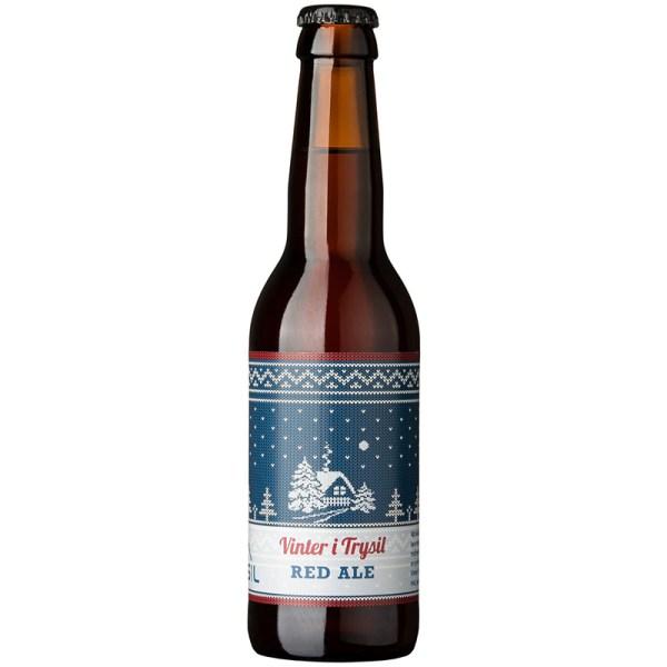 Vinter i Trysil - Red Ale - Trysil Bryggeri