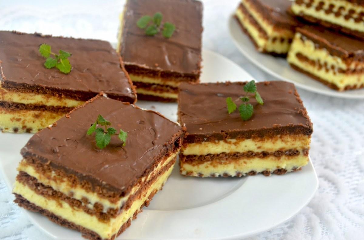 Ciasto milky way bez pieczenia + film