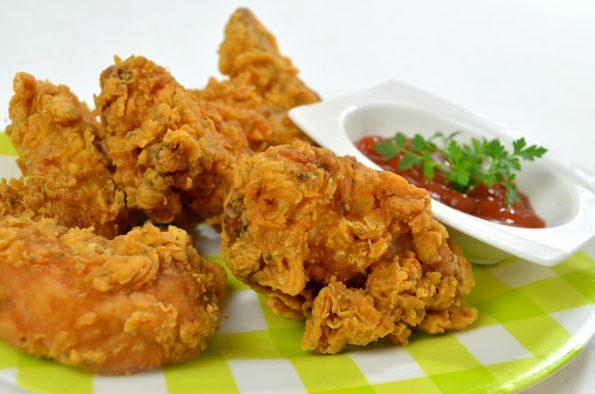 skrzydełka z KFC