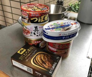 缶詰パーティー メニュー