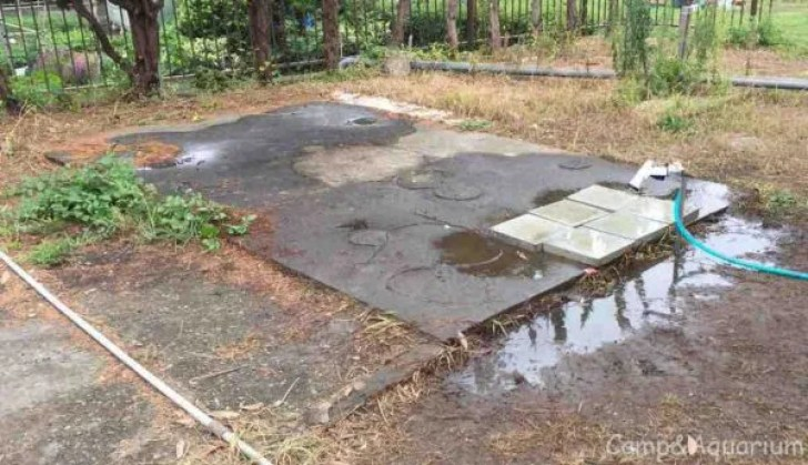 館山シーサイドビレッジ 足洗い場