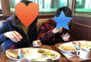 高坂SA朝食