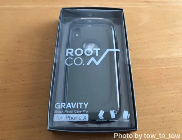 ROOT CO.  GRAVITY Shock Resist Case Pro. for iPhone