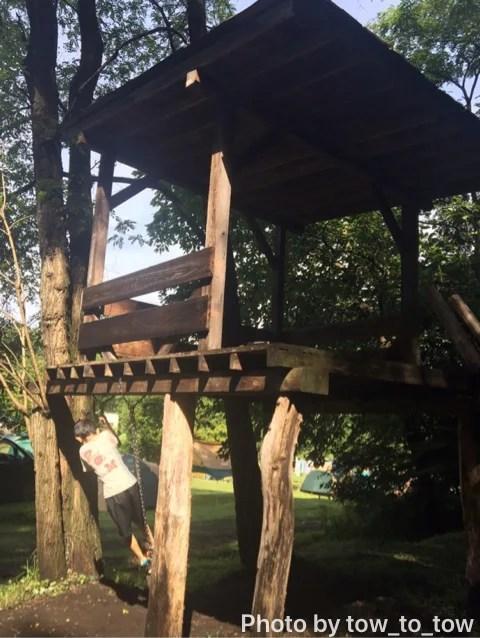 上毛高原キャンプグランド 遊具