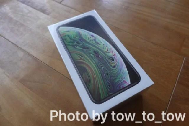 iPhone xs 外箱