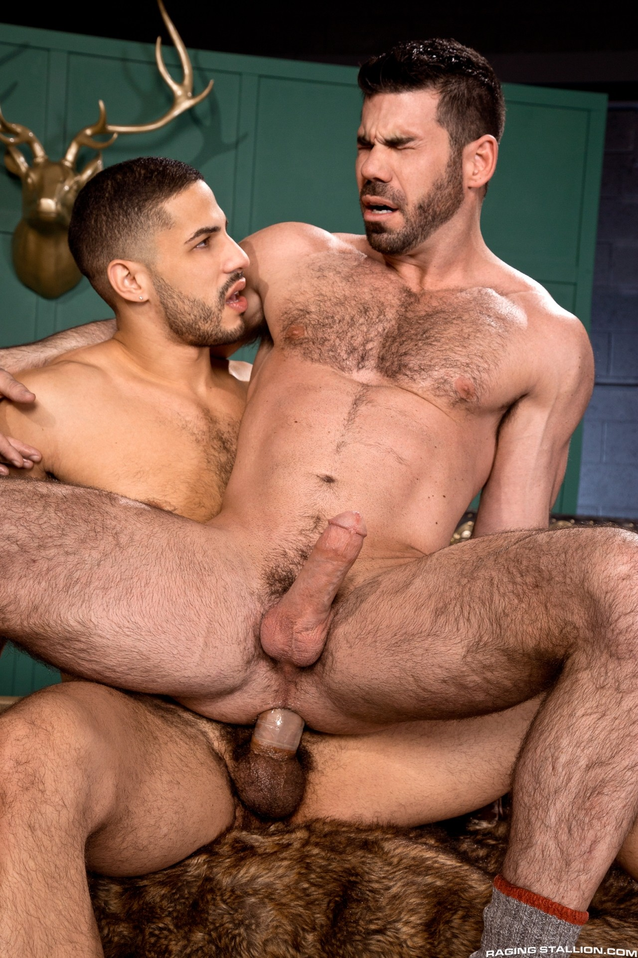 Billy Santoro And Tyce Jax from Raging Stallion at
