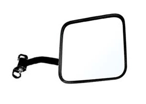 "Passenger Side CJ-style Mirror 6.25""x6.25"" for Jeep 76-95"