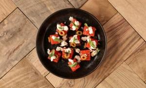 Homepage-Small Barn Modern Bistro-watermelon salad