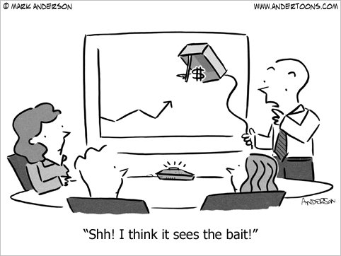 take the bait cartoon