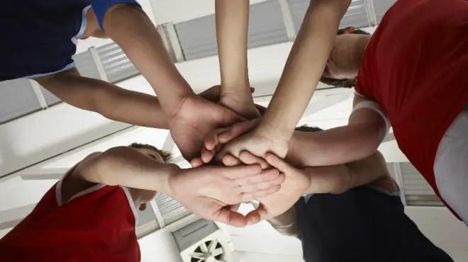020915 team huddle