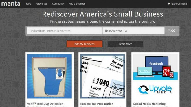 Manta Business DirectoryEDIT
