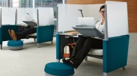 Brody from Steelcase is a One Person Work Pod - Small ...