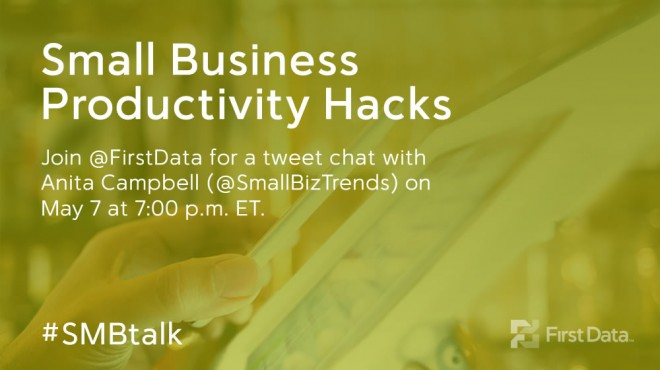 #SMBTalk on Small Business Productivity Hacks