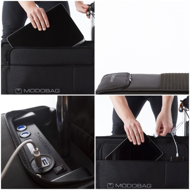 Modobag - Storage and charging