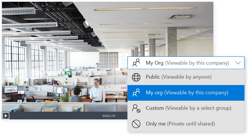New Enterprise Video Solution Microsoft Stream - It's Private and Secure