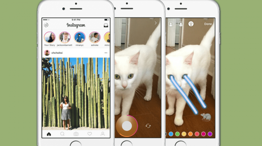 Instagram Stories Steals Snapchat's Lunch