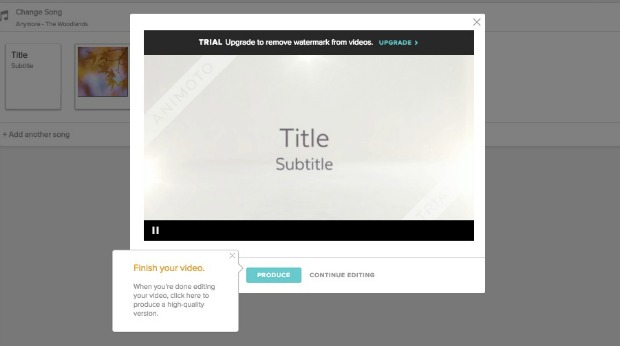How to Create a Video Using the Animoto Video Maker: Preview the Video