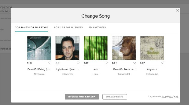 How to Create a Video Using the Animoto Video Maker: Manage Your Songs