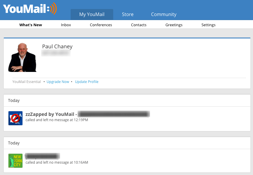 Free Conference Line - Other YouMail Features