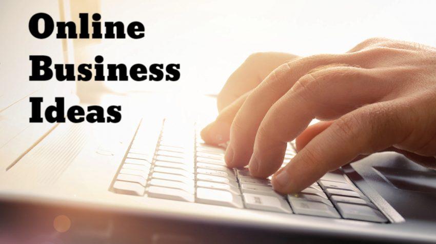 50 Online Business Ideas