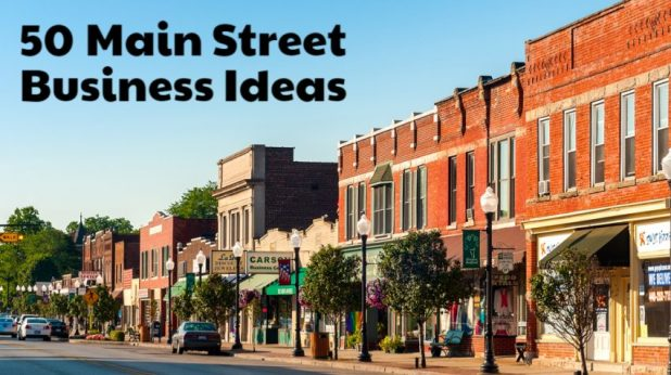 50 B2B Main Street Small Business Ideas