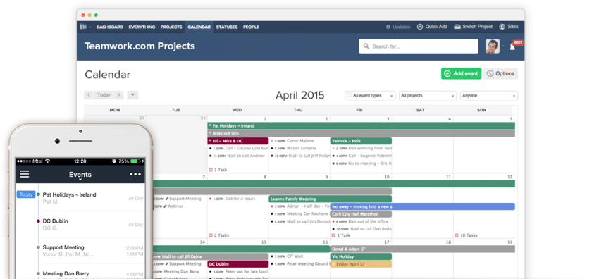 How to Manage Your Business with Teamwork Projects - Gantt Charts