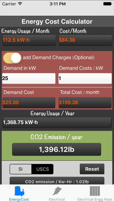 20 Mobile Apps to Help You Reduce Energy Costs - Energy Cost Calculator