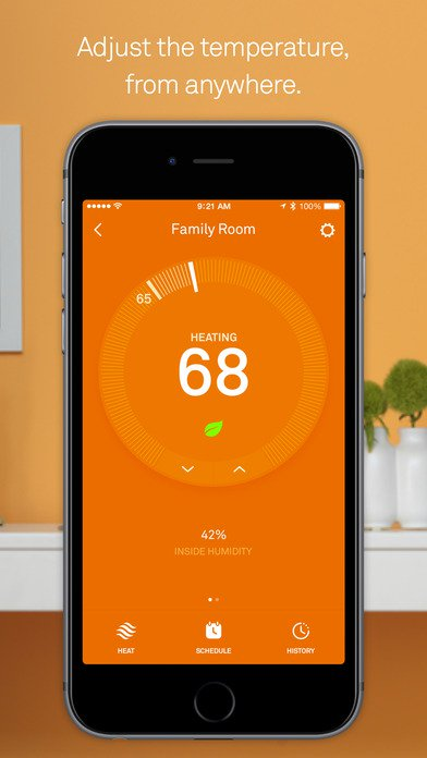 20 Mobile Apps to Help You Reduce Energy Costs - Smart Thermostats