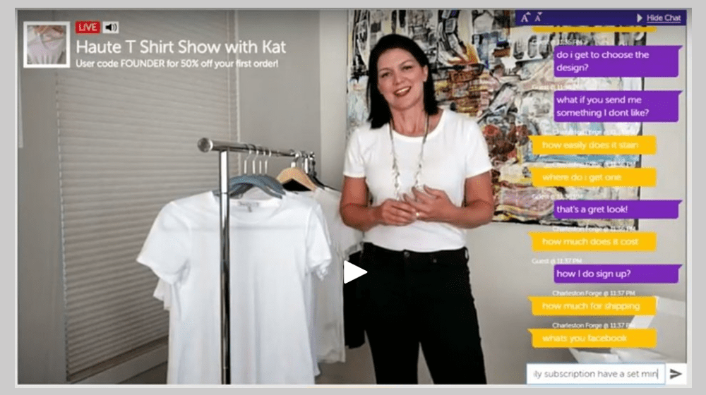 LiveShopCast Powered by uZoom Turns Your Ecommerce or Retail Store Into a Home Shopping Channel
