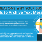 4 Reasons Your Small Business Should Archive Text Messages (Infographic)